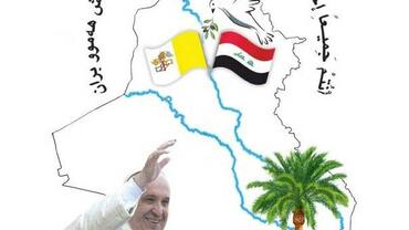Pope visits Iraq Logo